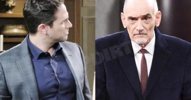 Days of Our Lives: Stefan DiMera (Brandon Barash) - Wilhelm Rolf (William Utay)