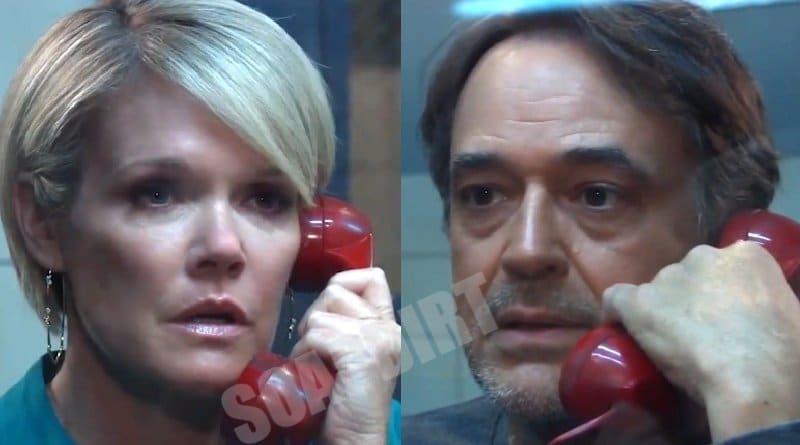 General Hospital Spoilers: Ava Jerome (Maura West) - Ryan Chamberlain (Jon Lindstrom)