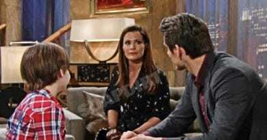 Young and the Restless Spoilers: Chelsea Newman (Melissa Claire Egan) - Adam Newman (Mark Grossman) - Connor Newman (Judah Mackey)