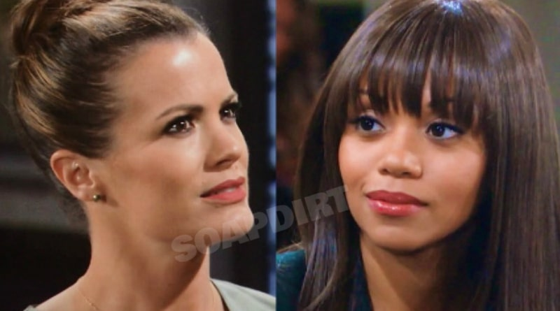 Young and the Restless Spoilers: Chelsea Newman (Melissa Claire egan) - Amanda Sinclair (Mishael Morgan)