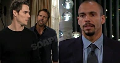 Young and the Restless Spoilers: Nick Newman (Joshua Morrow) - Adam Newman (Mark Grossman) - Devon Hamilton (Bryton James)