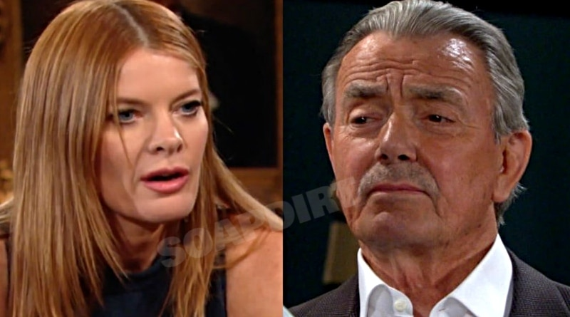 Young and the Restless Spoilers: Phyllis Summers (Michelle Stafford) - Victor Newman (Eric Braden)