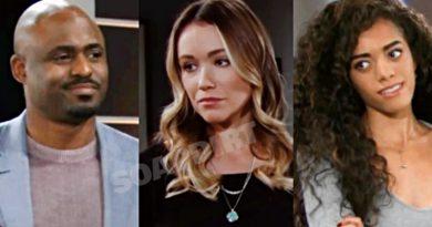 Bold and the Beautiful Spoilers: Reese Buckingham (Wayne Brady) - Flo Fulton (Katrina Bowden) - Zoe Buckingham (kiara Barnes)