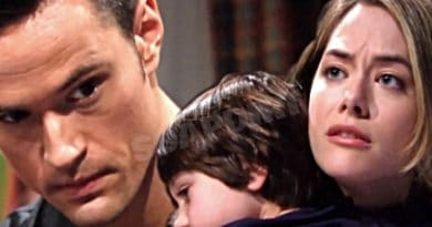 Bold and the Beautiful Spoilers: Thomas Forrester (Matthew Atkinson) - Hope Logan (Annika Noelle) - Douglas Forrester (Henry Samiri)