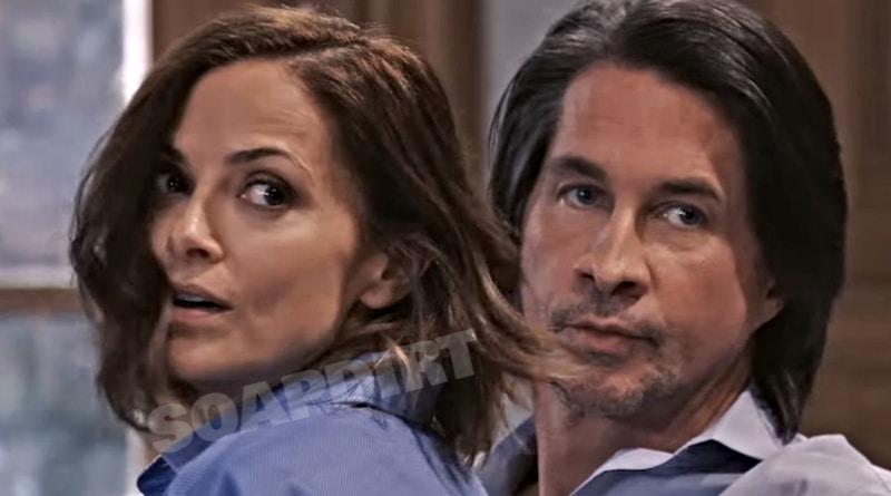 General Hospital Spoilers: Hayden Barnes (Rebecca Budig) - Hamilton Finn (Michael Easton)