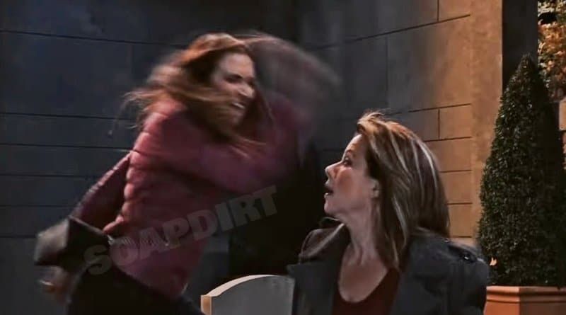 General Hospital Spoilers: Kendra Lennon (Michelle Argyris) Alexis Davis (Nancy Lee Grahn)