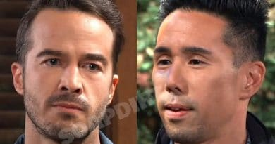 General Hospital Spoilers: Lucas Jones (Ryan Carnes) - Brad Cooper (Parry Shen)