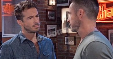 General Hospital Spoilers: Lucas Jones (Ryan Carnes) Julian Jerome (William deVry)