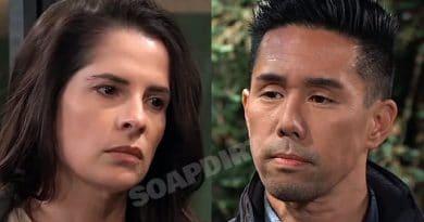 General Hospital Spoilers: Sam McCall (Kelly Monaco) - Brad Cooper (Parry Shen)