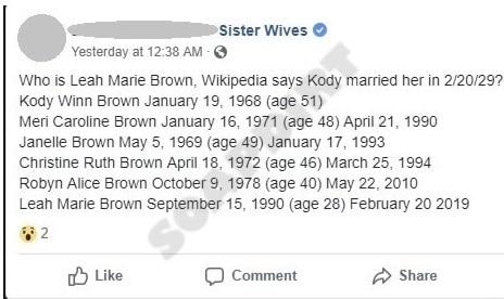 Sister Wives: Kody Brown