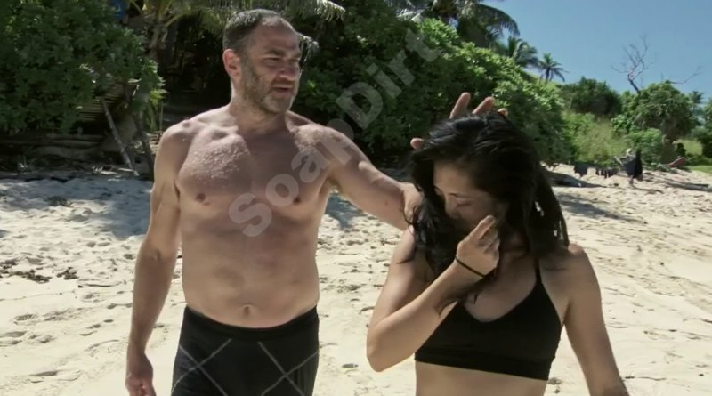 Survivor: Kellee Kim - Dan Spilo - touching