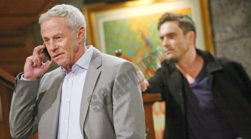 Young and the Restless: Colin Atkinson (Tristan Rogers) - Cane Ashby (Daniel Goddard)