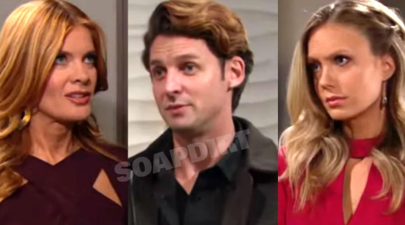 Young and the Restless Spoilers: Phyllis Summers (Michelle Stafford) - Chance Chancellor (Donny Boaz) - Abby Newman (Melissa Ordway)