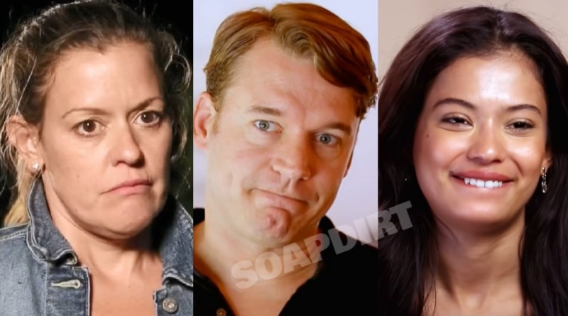 90 Day Fiance: Sarah - Michael Jessen - Juliana Custodio