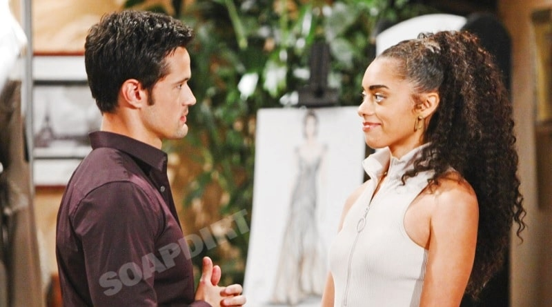 Bold and the Beautiful Spoilers: Thomas Forrester (Matthew Atkinson) - Zoe Buckingham (Kiara Barnes)