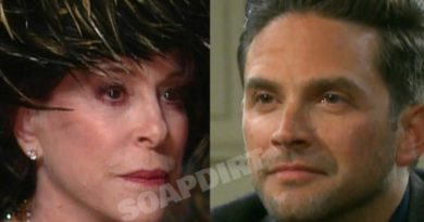 Days of Our Lives Spoilers: Vivian Alamain (Louise Sorel) - Stefan DiMera (Brandon Barash)