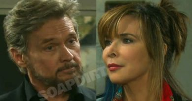 Days of OUr Lives Spoilers: Stefano DiMera (Stephen Nichols) - Kate Roberts (Lauren Koslow)