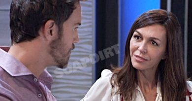 General Hospital Spoilers: Anna Devane (Finola Hughes) Peter August (Wes Ramsey)