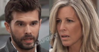 General Hospital Spoilers: Harrison Chase (Josh Swickard) Carly Corinthos (Laura Wright)
