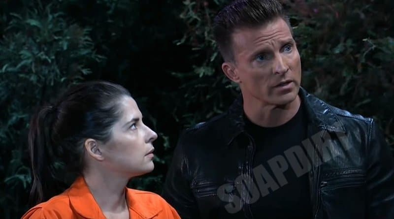 General Hospital Spoilers: Jason Morgan (Steve Burton) Sam McCall (Kelly Monaco)