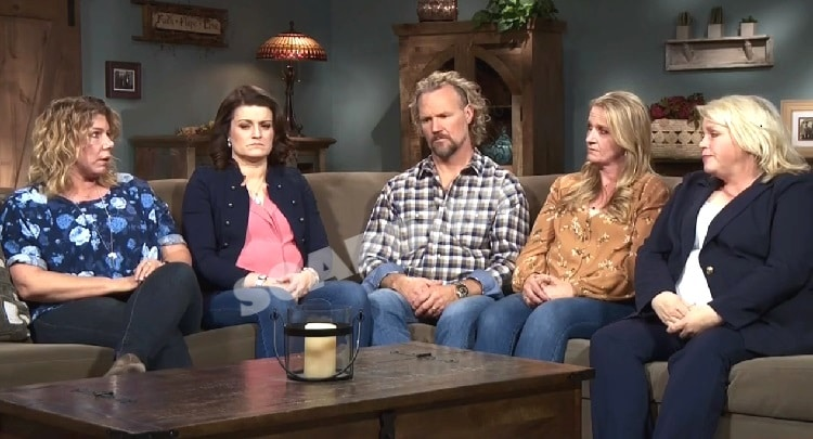 Sister Wives: Meri Brown - Robyn Brown - Kody Brown - Christine Brown - Janelle Brown