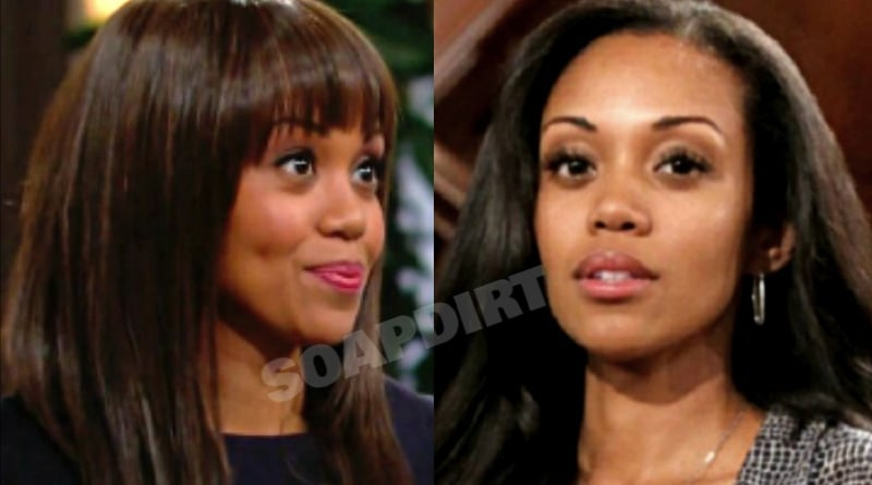 Young and the Restless: Amanda Sinclair (Mishael Morgan) - Hilary Curtis (Mishael Morgan)