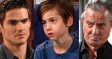 Young and the Restless Spoilers: Adam Newman (Mark Grossman) - Connor Newman (Judah Mackey) - Victor Newman (Eric Braeden)