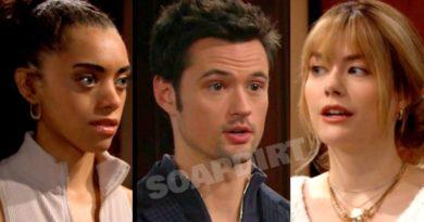 Bold and the Beautiful Spoilers: Zoe Buckingham (Kiara Barnes) - Thomas Forrester (Matthew Atkinson) - Hope Logan (Annika Noelle)