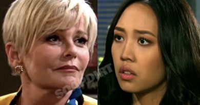 Days of Our Lives Spoilers: Adrienne Kiriakis (Judi Evans) - Haley Chen (Thia Megia)