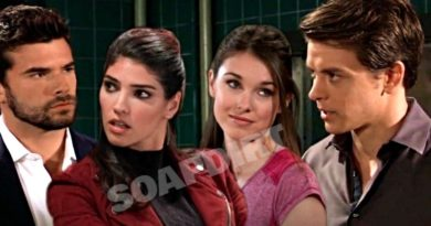 General Hospital Spoilers: Harrison Chase (Josh Swickard) - Brook Lynn Ashton (Amanda Setton) - Willow Tait (Katelyn MacMullen) - Michael Corinthos (Chad Duell)
