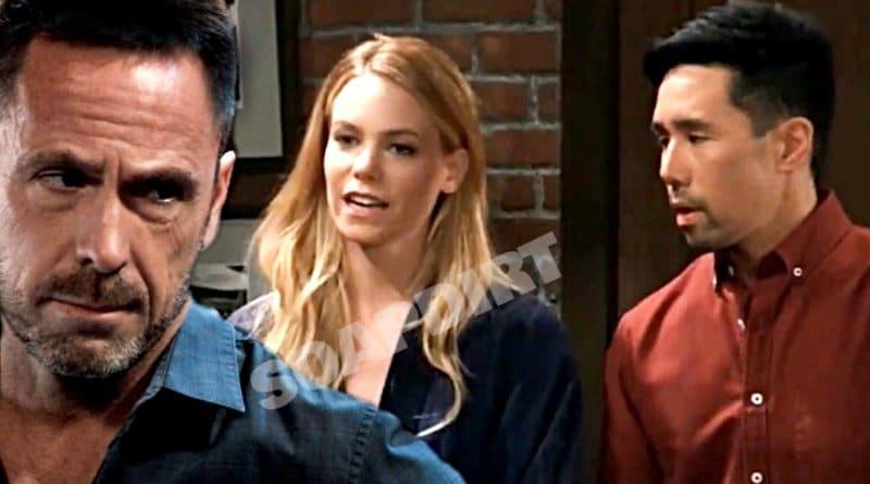 General Hospital Spoilers: Julian Jerome (William deVry) - Nelle Hayes (Chloe Lanier) - Brad Cooper (Parry Shen)