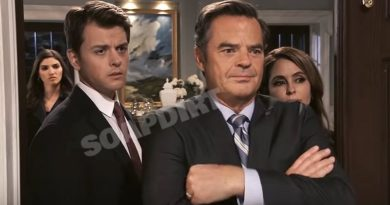 General Hospital Spoilers: Michael Corinthos (Chad Duell) - Ned Quartermaine (Wally Kurth