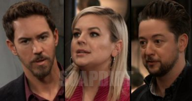 General Hospital Spoilers: Peter August (Wes Ramsey) - Maxie Jones (Kirsten Storms) - Damian Spinelli (Bradford Anderson)