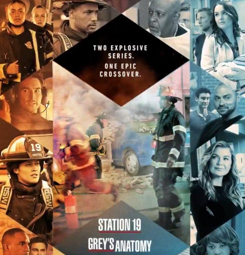 Greys Anatomy - Station 19 - Crossover