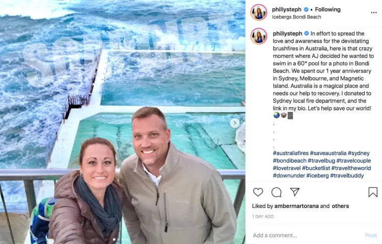 Married at First Sight: AJ Vollmoeller - Stephanie Sersen - Instagram
