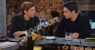 Young and the Restless: Chance Chancellor (Donny Boaz) - Adam Newman (Mark Grossman)