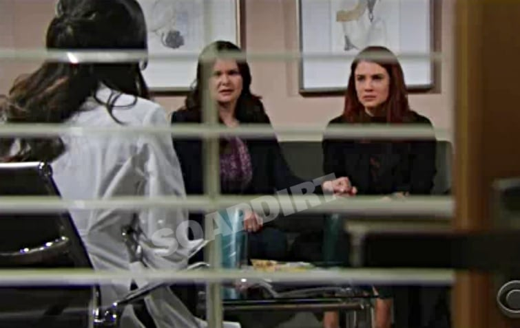 Bold and the Beautiful: Sally Spectra (Courtney Hope) - Katie Logan (Heather Tom)