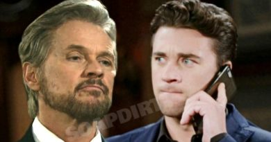 Days of Our Lives Spoilers: Stefano DiMera (Stephen Nichols) - Chad DiMera (Billy Flynn)