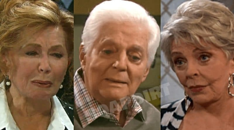 Days of our Lives Spoilers: Maggie Horton (Suzanne Rogers) - Doug Williams (Bill Hayes) - Julie Williams (Susan Seaforth Hayes)