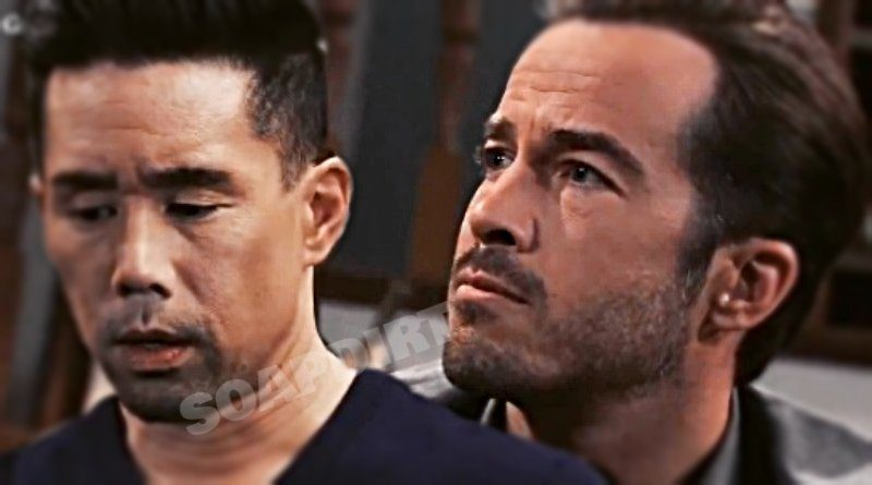 General Hospital Spoilers: Brad Cooper (Parry Shen) - Lucas Jones (Ryan Carnes)