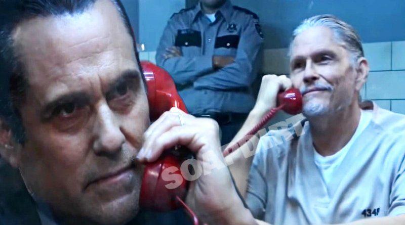 General Hospital Spoilers: Sonny Corinthos (Maurice Benard) - Cyrus Renault (Jeff Kober)