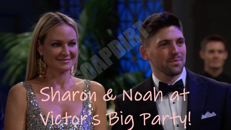 Young and the Restless Spoilers: Noah Newman (Robert Adamson) - Sharon Newman (Sharon Case)