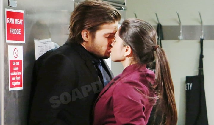Young and the Restless: Theo Vanderway (Tyler Johnson) - Lola Rosales (Sasha Calle)