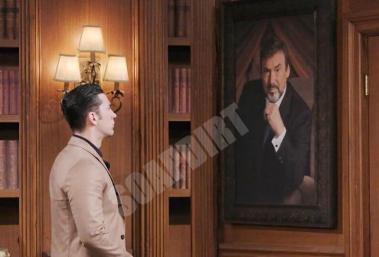 Days of Our Lives Spoilers: Stefano DiMera (Joseph Mascolo) - Chad DiMera (Billy Flynn)