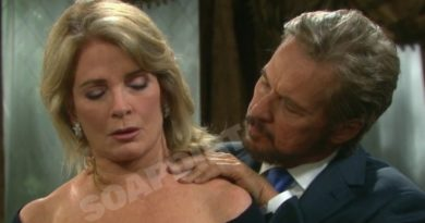 Days of Our Lives Spoilers: Marlena Evans (Deidre Hall) - Stefano DiMera (Stephen Nichols)