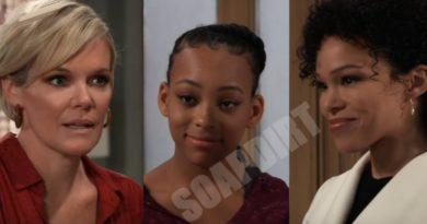General Hospital Spoilers: Ava Jerome (Maura West) Trina Robinson (Sydney Mikayla) - Portia Robinson (Brook Kerr)