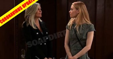 General Hospital Spoilers: Carly Corinthos (Laura Wright) - Nelle Hayes (Chloe Lanier)