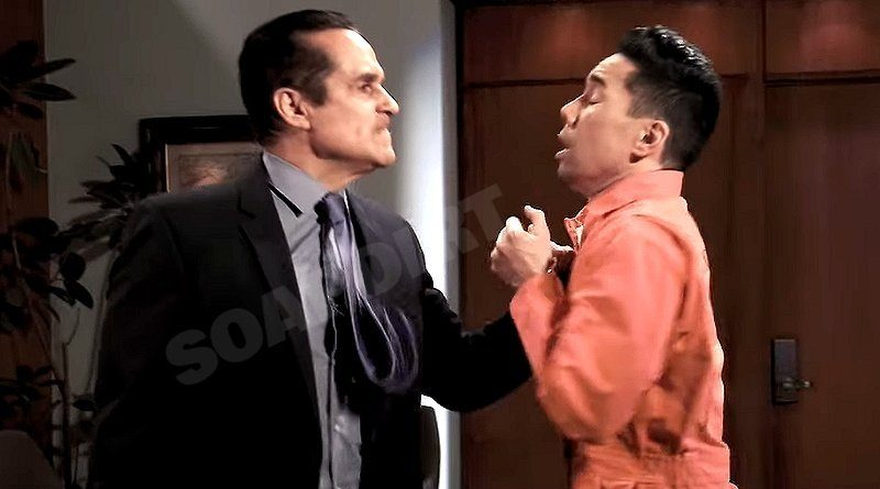 General Hospital Spoilers: Sonny Corinthos (Maurice Benard) Brad Cooper (Parry Shen)