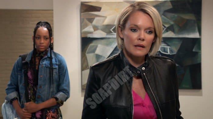 General Hospital Spoilers: Trina Robinson (Sydney Mikayla) - Ava Jerome (Maura West)