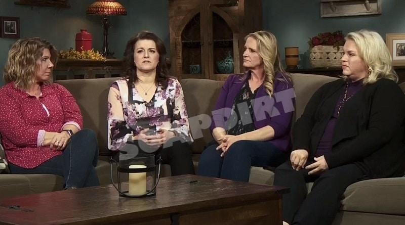 Sister Wives: Meri Brown - Robyn Brown - Christine Brown - Janelle Brown